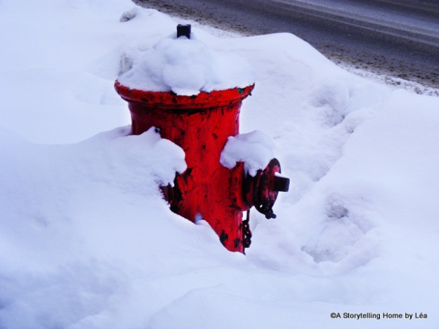 Fire hydrant under the snow