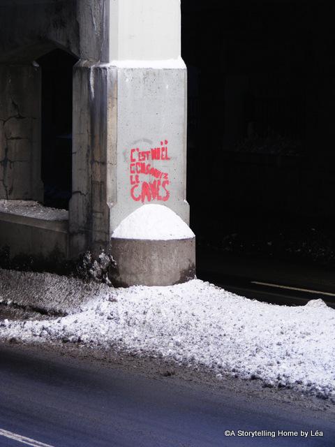 Street graffiti Montreal