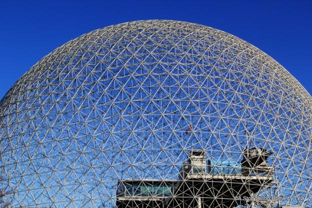 Biosphere detail Montreal