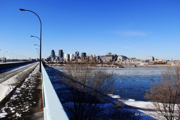 Pont de la Concorde vue de Montréal