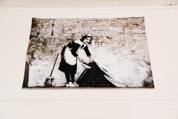 Banksy maid poster
