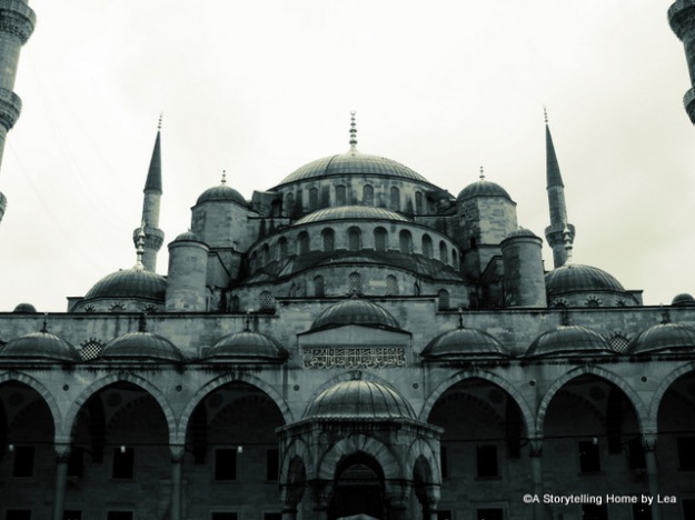 Blue mosque Istanbul A Storytelling Home Lea Plourde-Archer