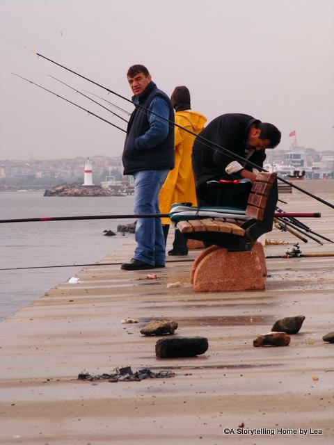 Fishermen Istanbul A Storytelling Home Lea Plourde-Archer