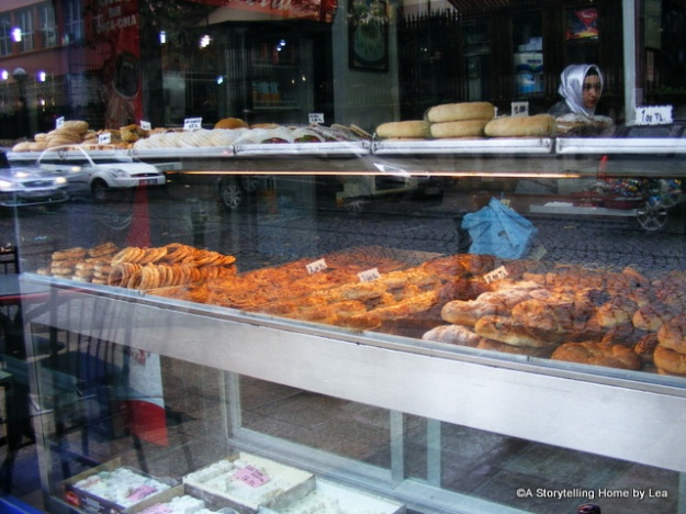 Pastry shop, Istanbul, A Storytelling Home, Lea Plourde-Archer