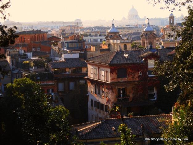 VIew Rome Skyline