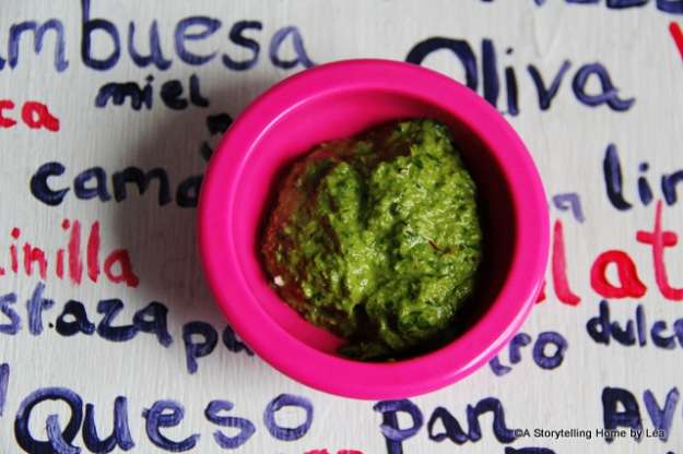 Swiss chard chive pesto recipe_Lea_A Storytelling Home