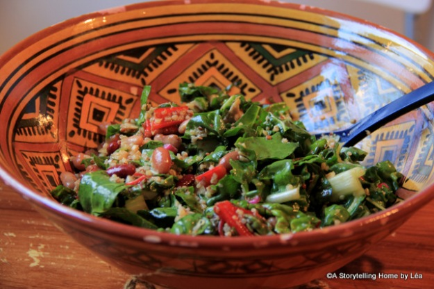 Swiss chard salad recipe_Lea_A Storytelling Home
