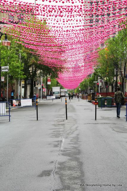 Pink balls_Montreal_Gay Village