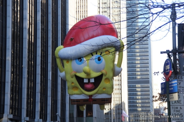 Spongebob Macy's Thanksgiving day parade New York