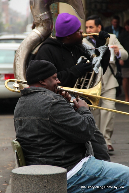 jazz musicians New Orleans A Storytelling Home