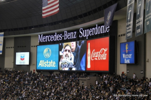 Mercedes benz superdome New Orleans A Storytelling Home