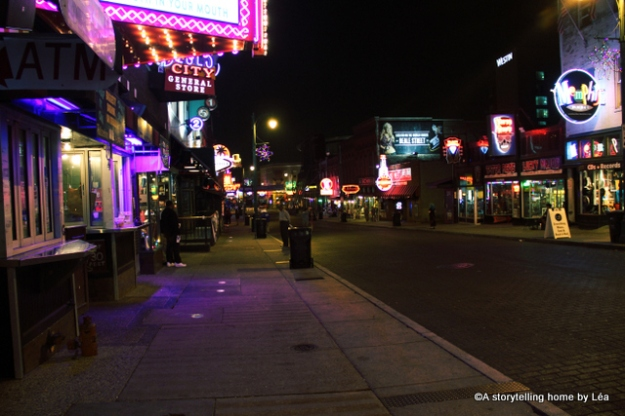 Beale street Memphis Tennessee_A Storytelling Home