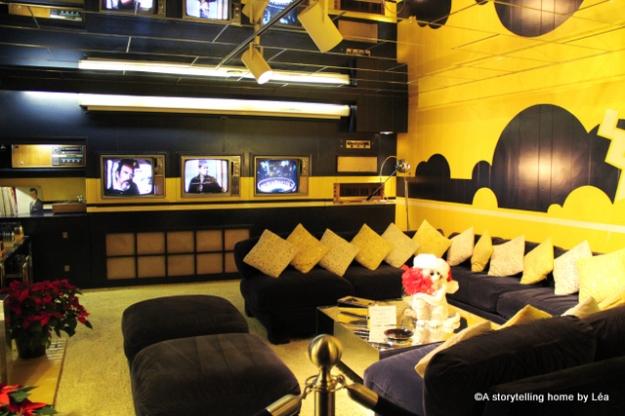 Graceland basement Memphis_A storytelling home