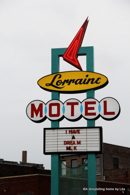 Lorraine Motel sign Memphis Tennessee_A Storytelling Home