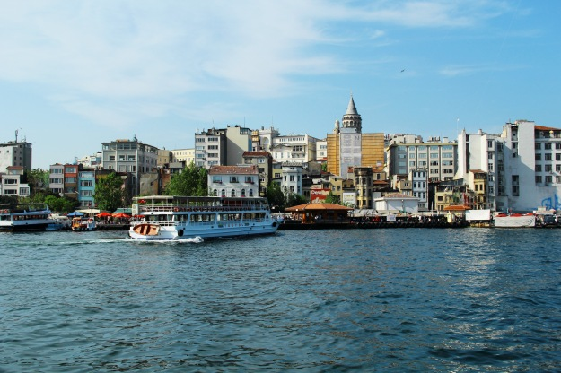 A view of the Golden horn