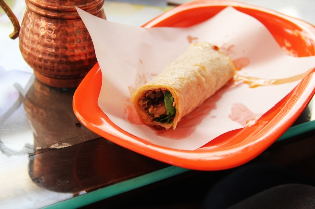 If I remember correctly, this is called tantuni