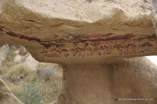 painting cappadocia_turkey