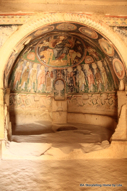 Cave church painting