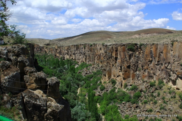 Ihlara Valley canyon
