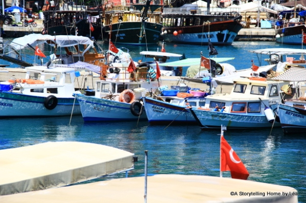 Antalya Marina boats_Turkey_