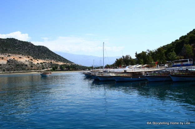 Lycian coast_boat_Turkey