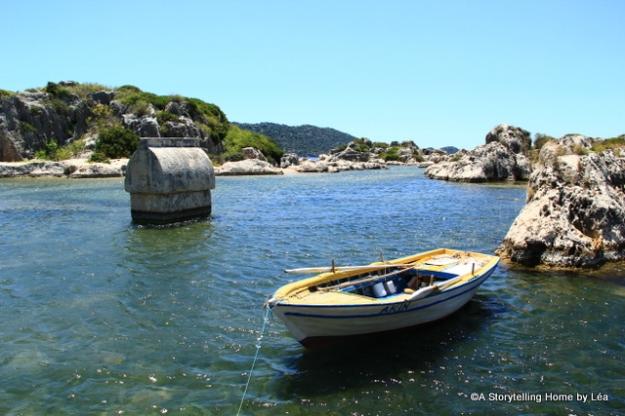 Lycian tomb_Kalekoy_Lycian coast_Turkey
