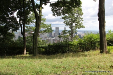 Montreal view_Mount Royal